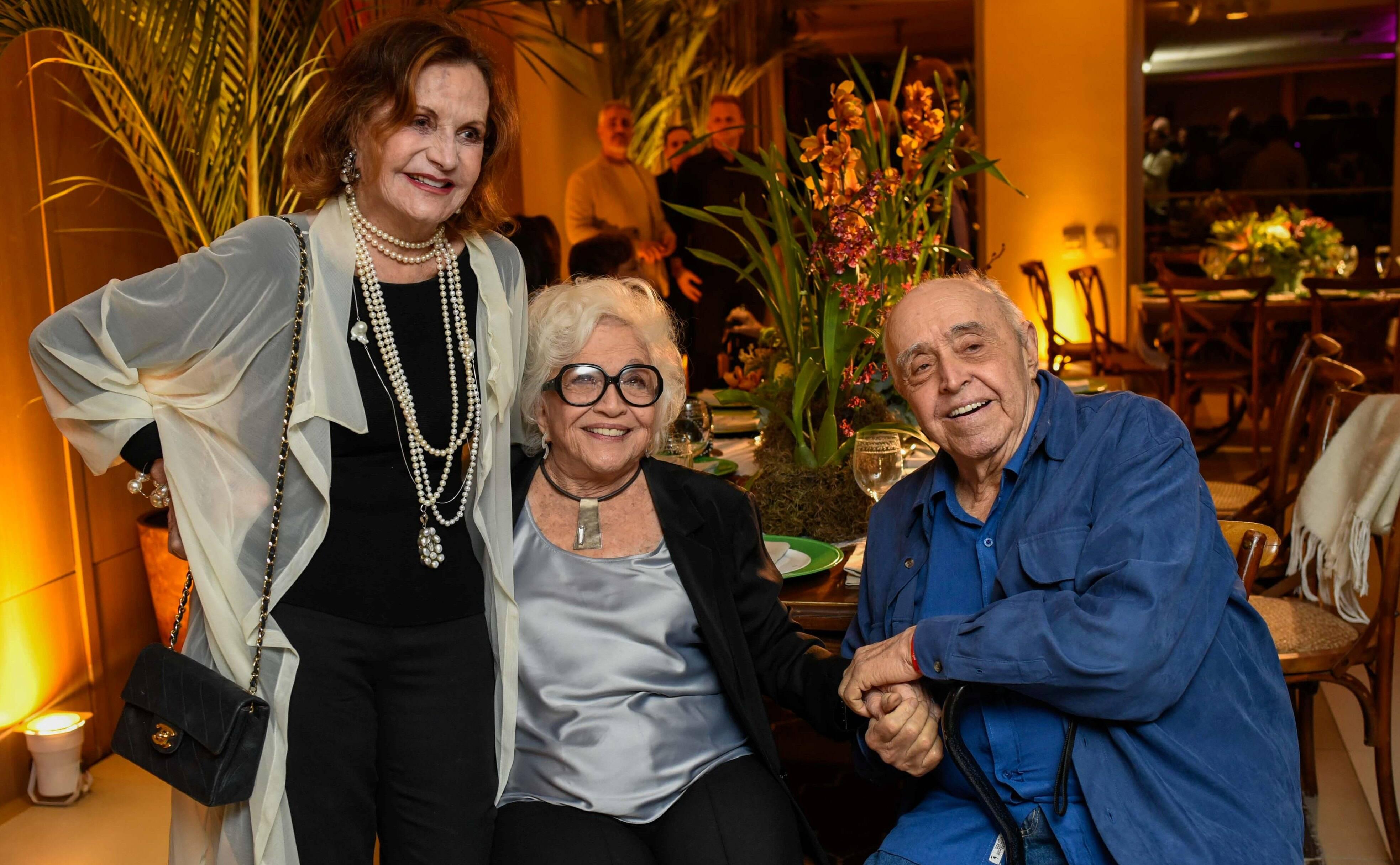 Rosamaria Murtinho, Nathália Timberg e Mauro Mendonça  /Foto: Mariama Prieto