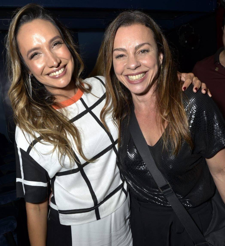 Maria Maya e Carla Marins   /Foto: Cristina Granato-