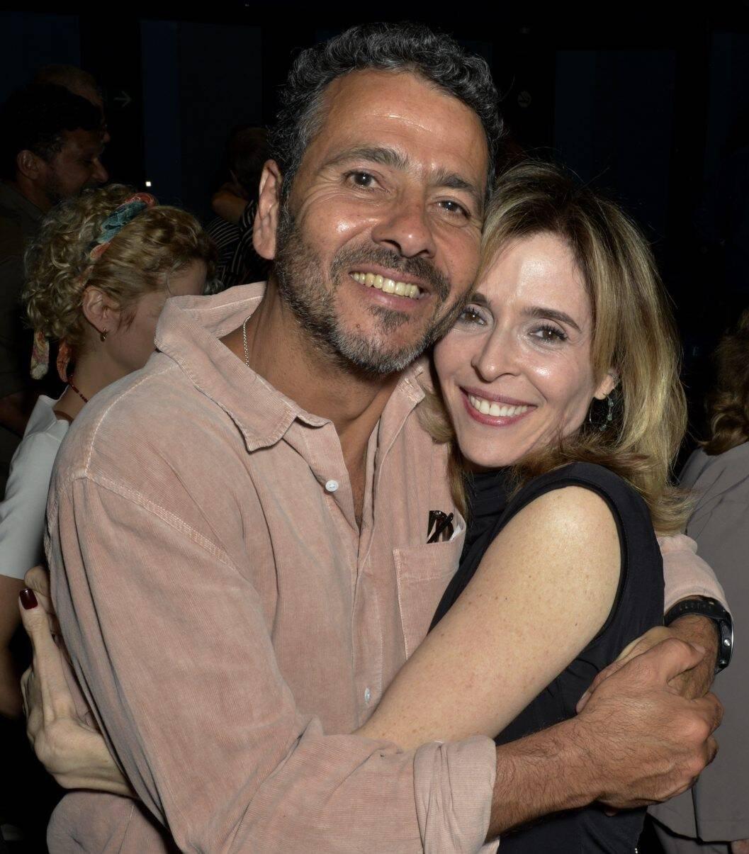 Marcos Palmeira e Deborah Evelyn  /Foto: Cristina Granato