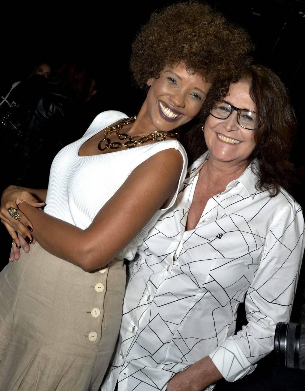 Isabel Fillardis e Joana  /Foto: Cristina Granato