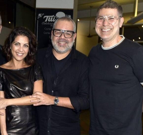 Thalita Rebouças, Marcus Montenegro e Cacau Hygino /Foto: Cristina Granato