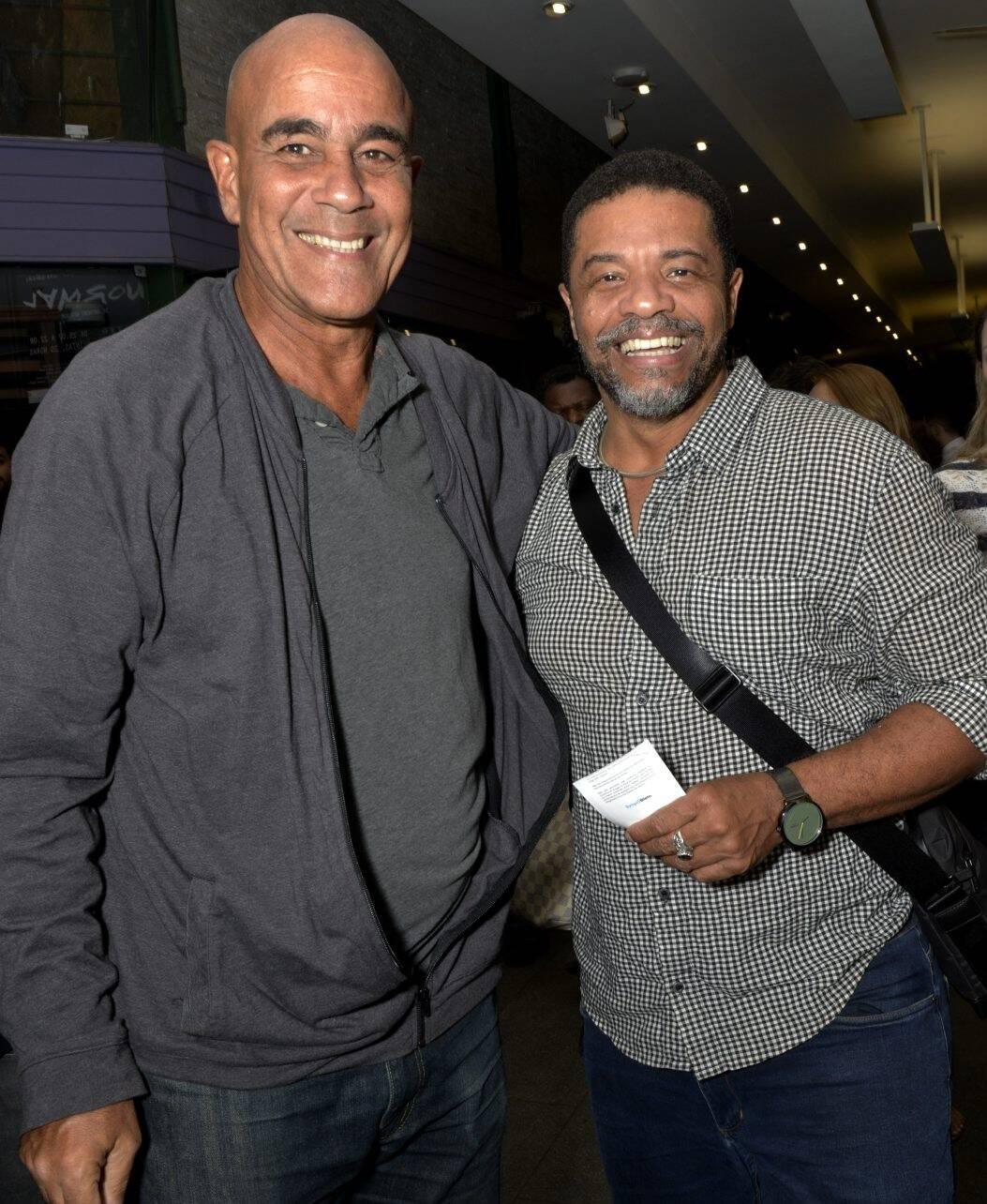 Jorge Leão e Luciano Quirino  /Foto: Cristina Granato