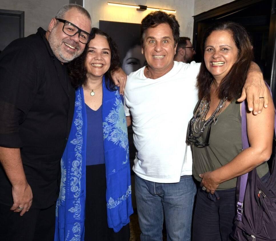 Marcus Montenegro, Thereza Seiblitz, Marcos Frota e Denise Milfont  /Foto: Cristina Granato