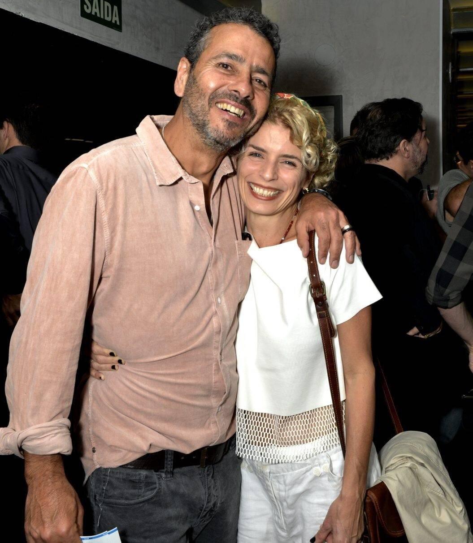 Marcos Palmeira e Gabriela Gastal  /Foto: Cristina Granato