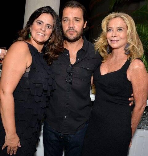 Valeria Leal, Paulo Muchelas e Angela de Carvalho