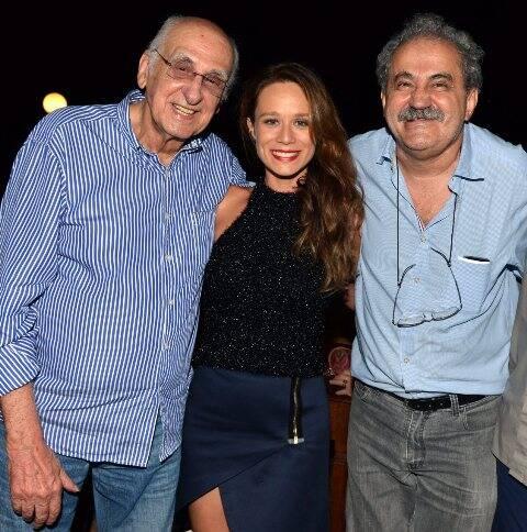 Zuenir Ventura, Mariana Ximenes e Ancelmo Gois