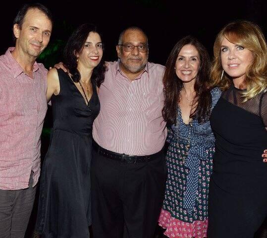 Lula Buarque, Letícia Monte, Jorge Bastos Moreno, Flora Gil e Lilibeth Monteiro