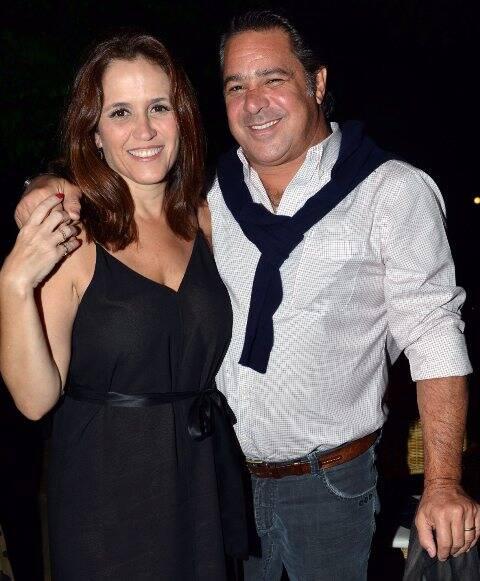 Ana Luiza Guimarães e Rodolfo Figueira de Mello