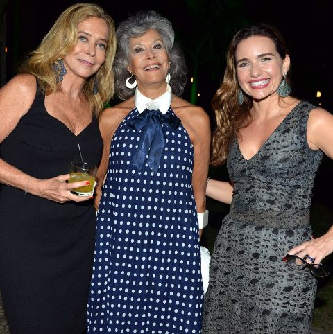Angela Carvalho, Gisela Amaral e Adriana Mattar