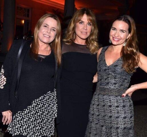 Mônica Góes, Lilibeth Monteiro de Carvalho e Adriana Mattar
