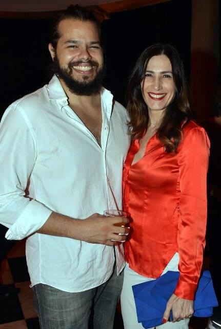 Omar Salomão e Virgínia Cavendish