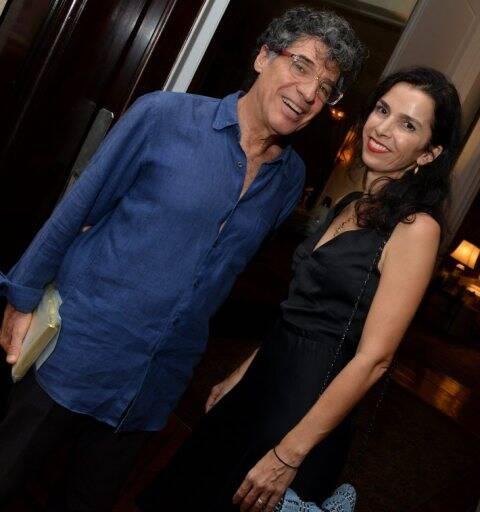 Paulo Betti e Letícia Monte