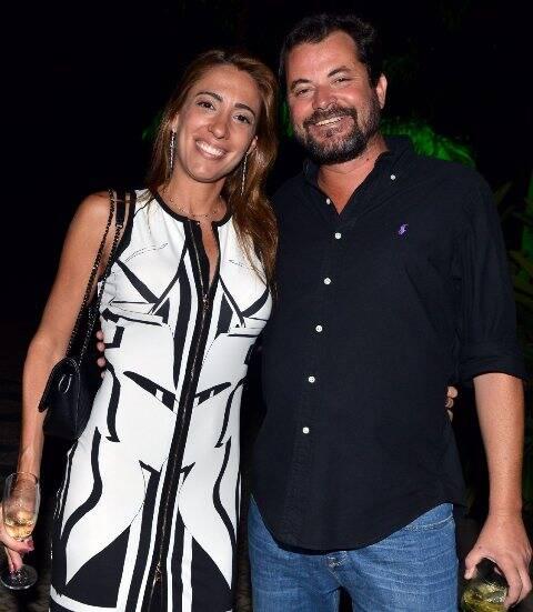 Paula Marinho e Miguel Pinto Guimarães