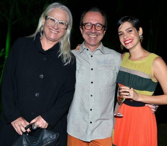 Vera Holtz, Nelson Fonseca e Maria Flor