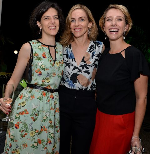 Cristina Fibe, Patricia Kogut e Melina Dalboni