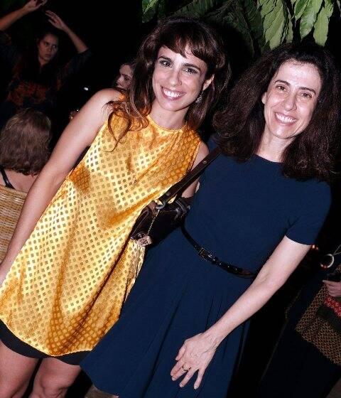 Maria Ribeiro e Fernanda Torres