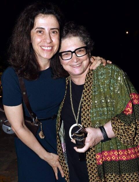 Fernanda Torres e Cora Ronai