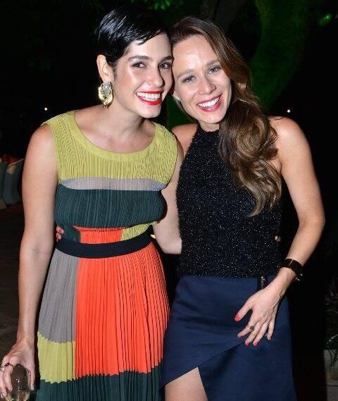 Maria Flor e Mariana Ximenes