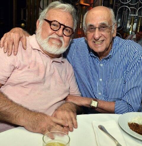 Ricardo Amaral e Zuenir Ventura