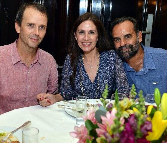 Lula Buarque, Flora Gil e João Mario Linhares
