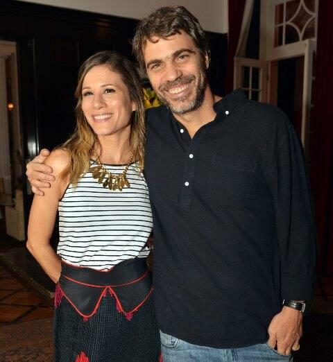 Mariana Brennand e Régis Faria