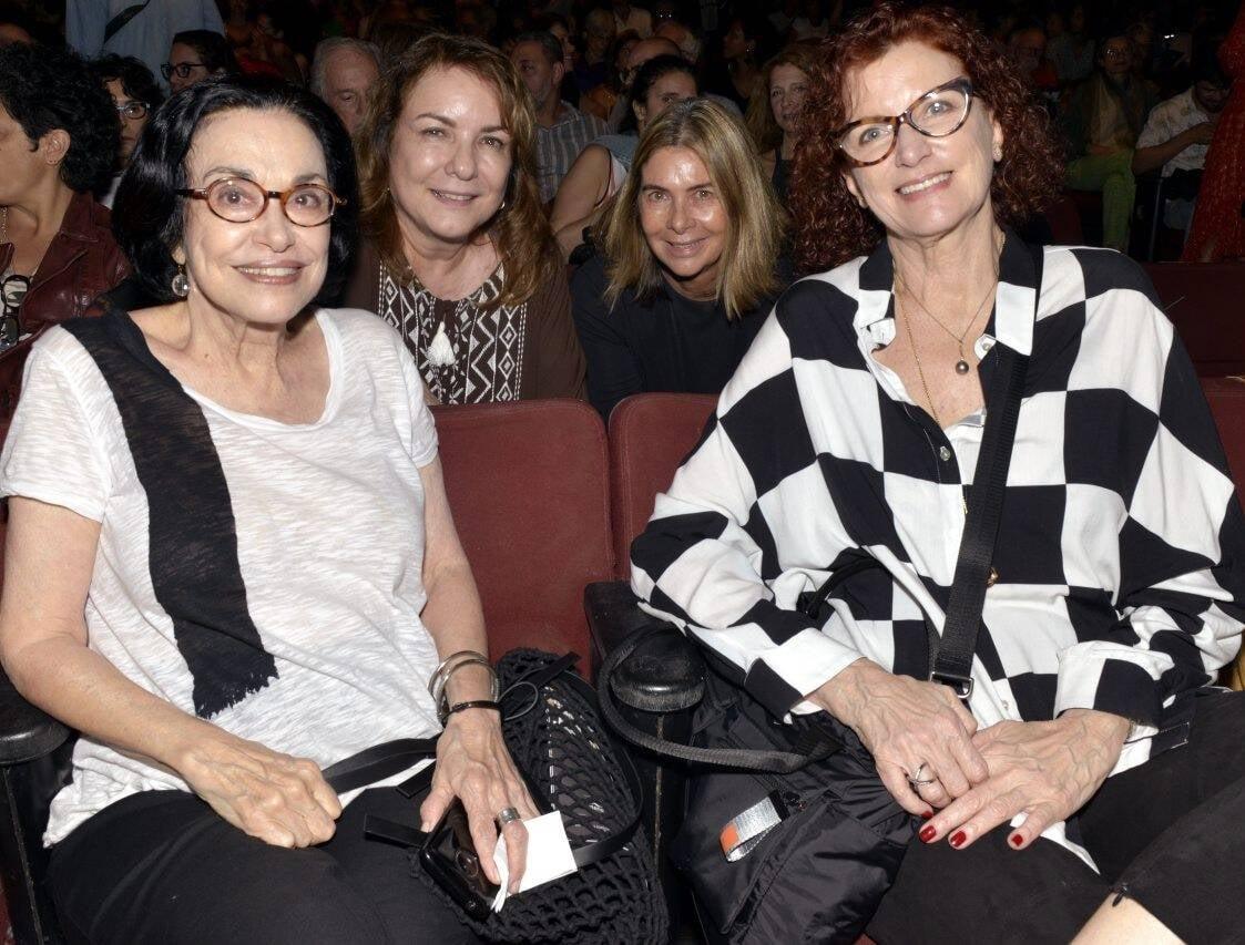 Maria Lucia Rangel, Bia Corrêa do Lago, Maria Helena Carneiro da Cunha e Emilia Silveira  /Foto: Cristina Granato