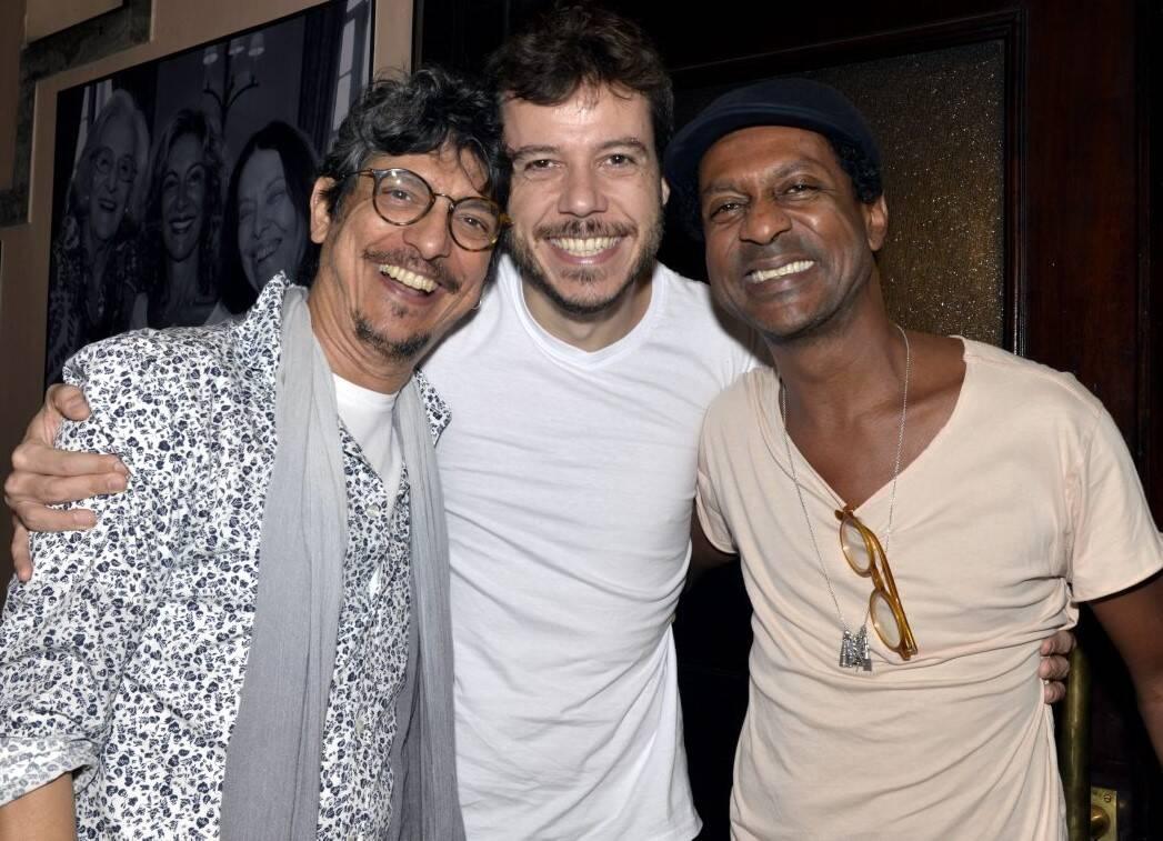 Pedro Luis, João Cavalcanti e Luis Miranda  /Foto: Cristina Granato