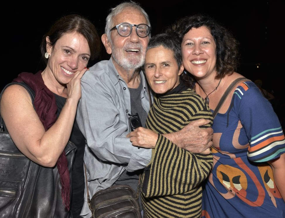 Bel Kutner, Paulo José, Bia Lessa e Andrea Alves  /Foto: Cristina Granato