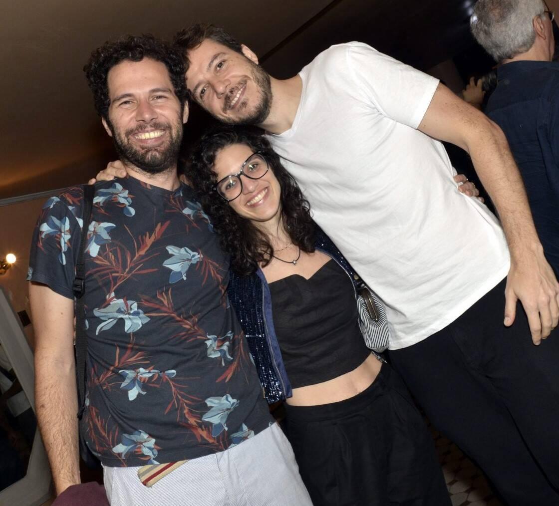 Alfredo Del-Penho, Roberta Gualda e João Cavalcanti  /Foto: Cristina Granato