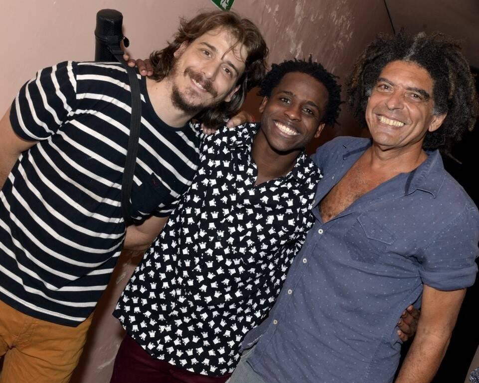 Pedro Aune, Hugo Germano e Marcos Sacramento  /Foto: Cristina Granato