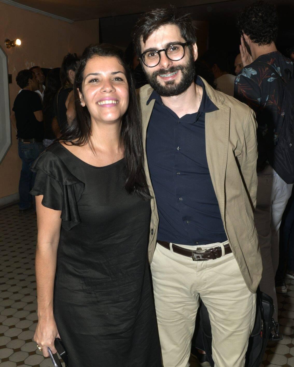 Flavia Garcia e Bruno Barros  /Foto: Cristina Granato