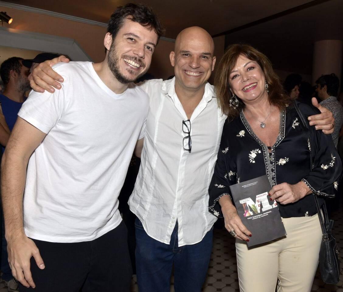 João Cavalcanti, Ricca Barros e Alcione Mazzeo  /Foto: Cristina Granato