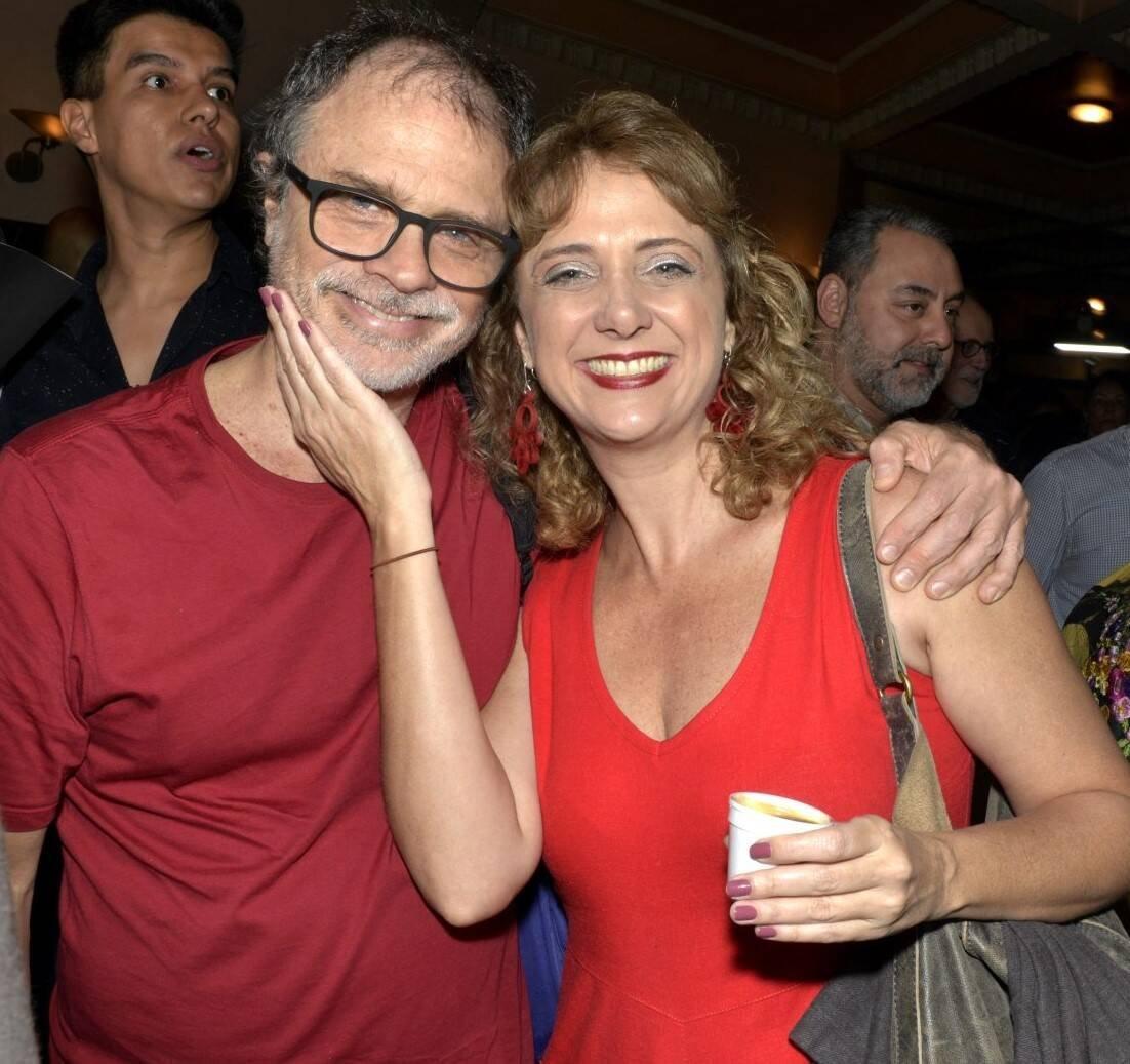 Isaac Bernat e Letícia Isnard  /Foto: Cristina Granato
