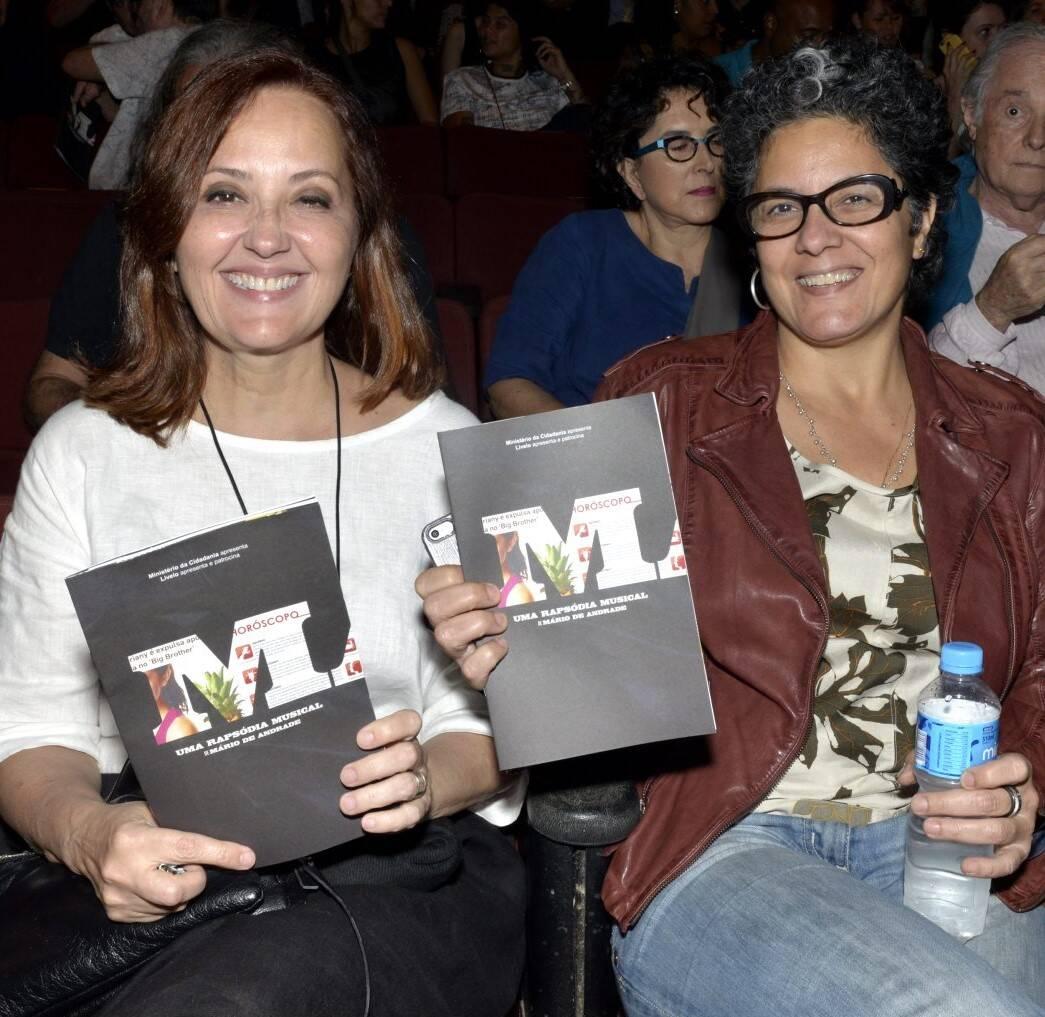 Claudia Netto e Ana Basbaum  /Foto: Cristina Granato
