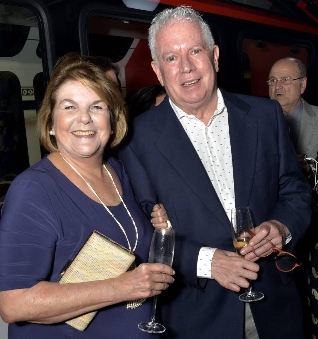 Anna Ramalho e Chicô Gouvêa  /Foto: Cristina Granato