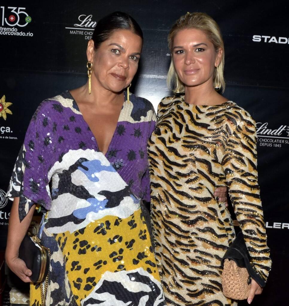 Daniela  Falcão e  Juliana Santos  /Foto: Cristina Granato