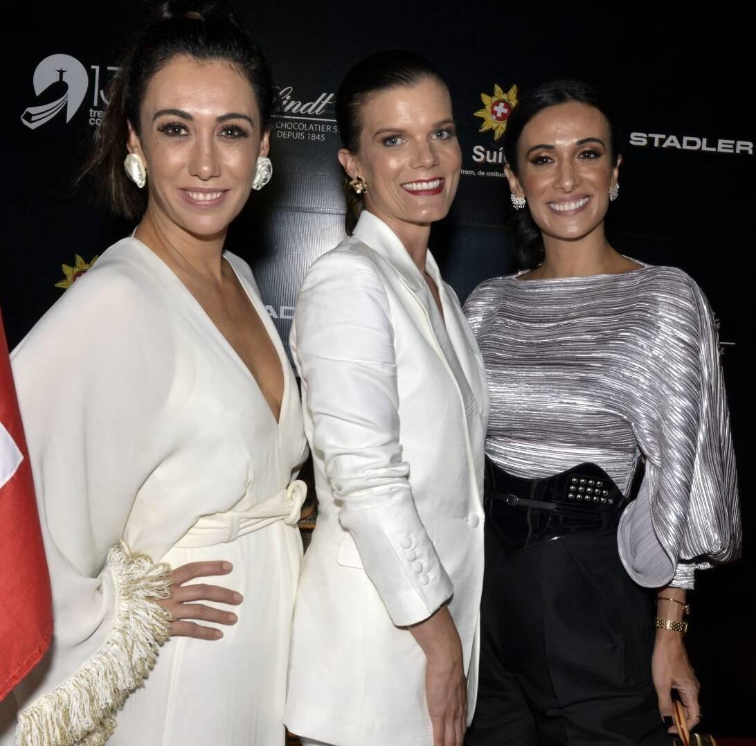 Isabela Bussade, Christina Gläser e Silvia Braz  /Foto: Cristina Granato