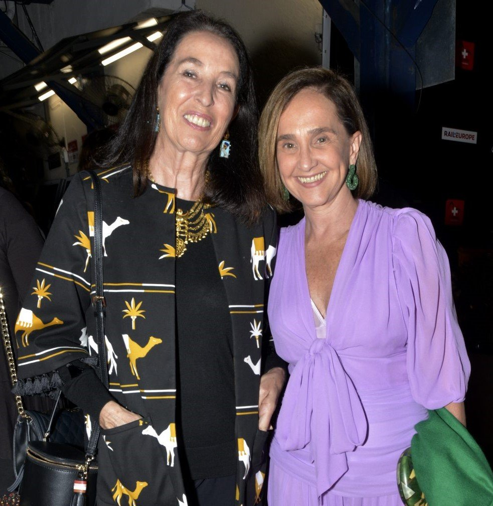 Marina Sauer e Bebel Niemeyer  /Foto: Cristina Granato