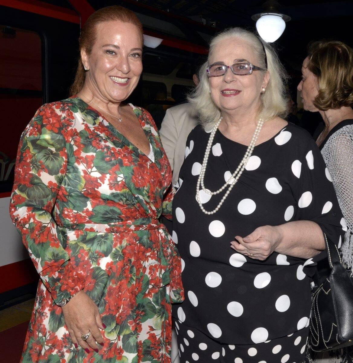 Priscilla Levinsohn e Hildegard Angel   /Foto: Cristina Granato