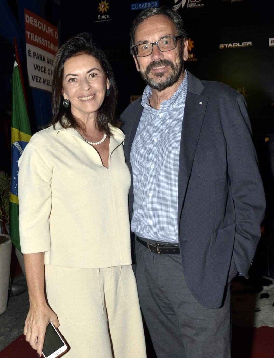 Monica e Erik Vidal  /Foto: Cristina Granato