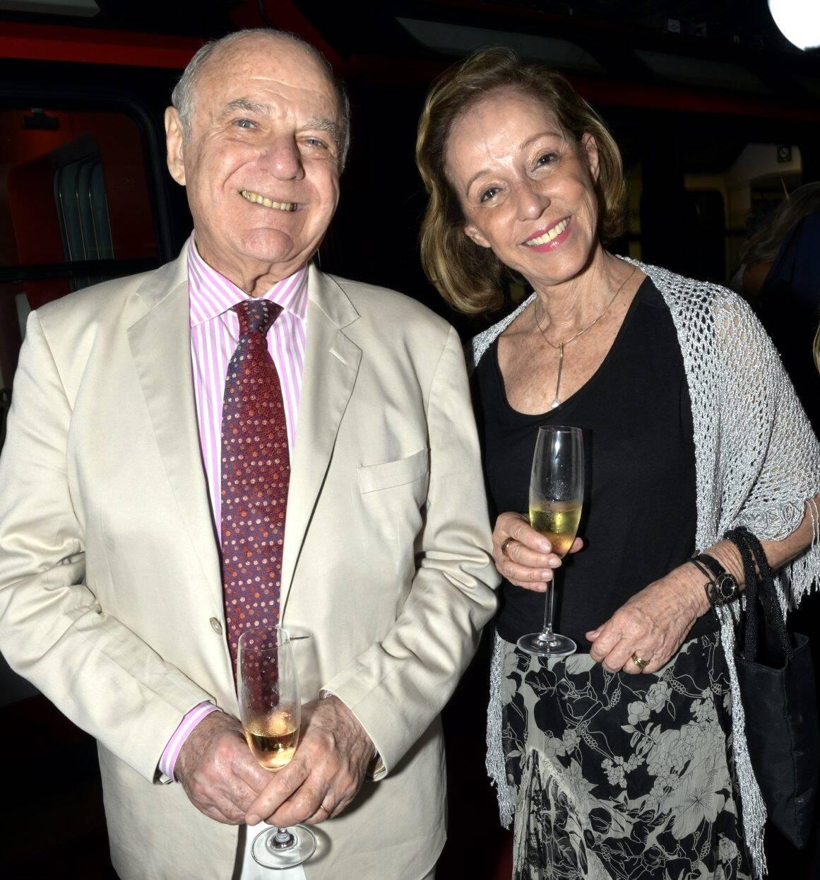 Francis Bogossian e Celina de Farias   /Foto: Cristina Granato