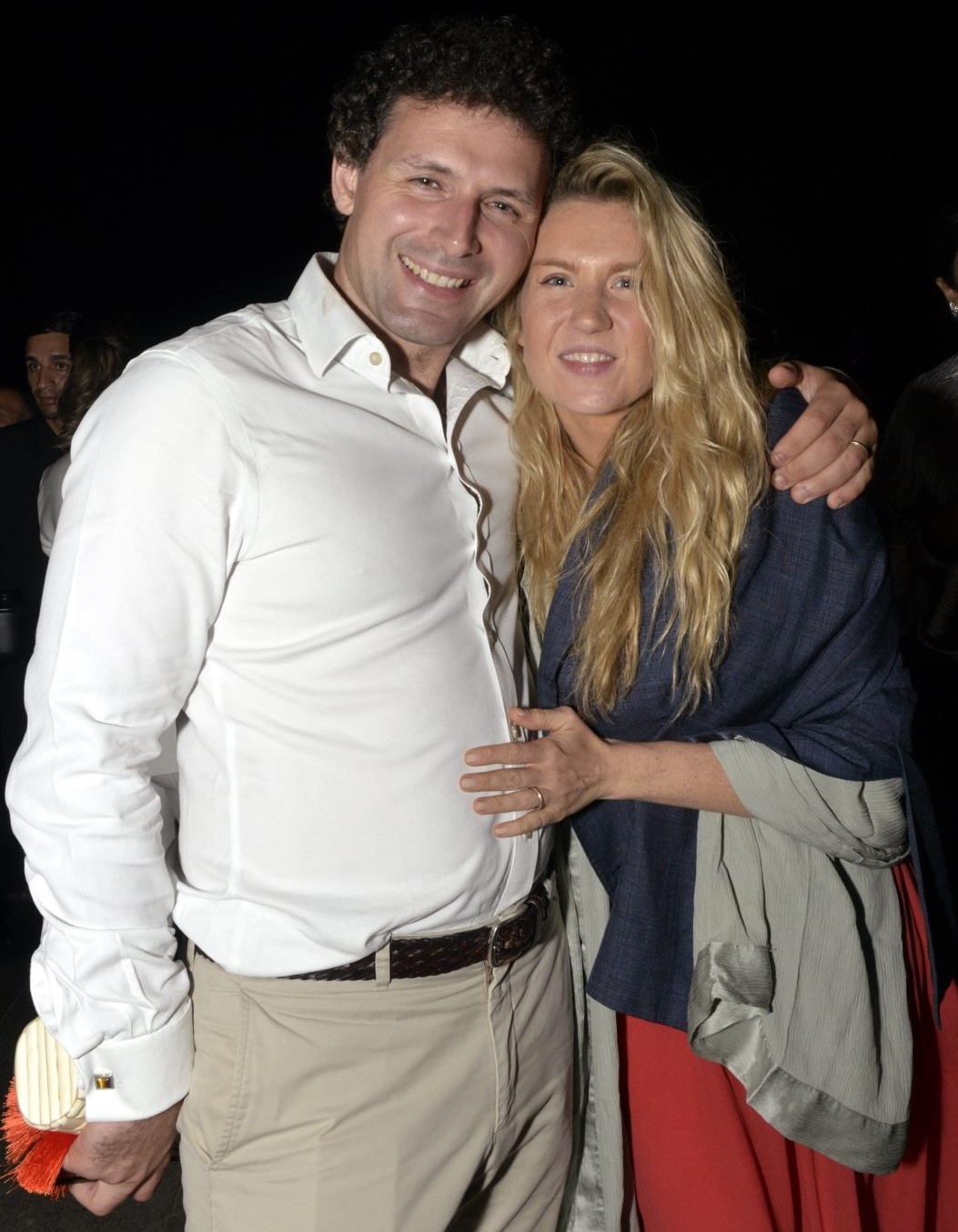 James Farha e Marie Mercier  /Foto: Cristina Granato