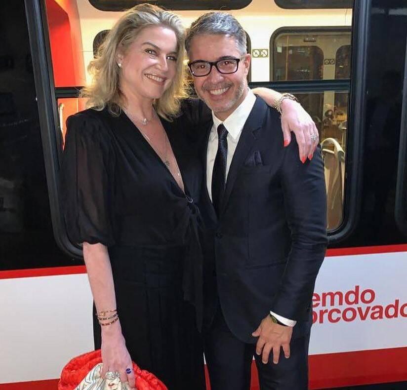 Carla Benchimol e Jayme Drummond /Foto: Reprodução