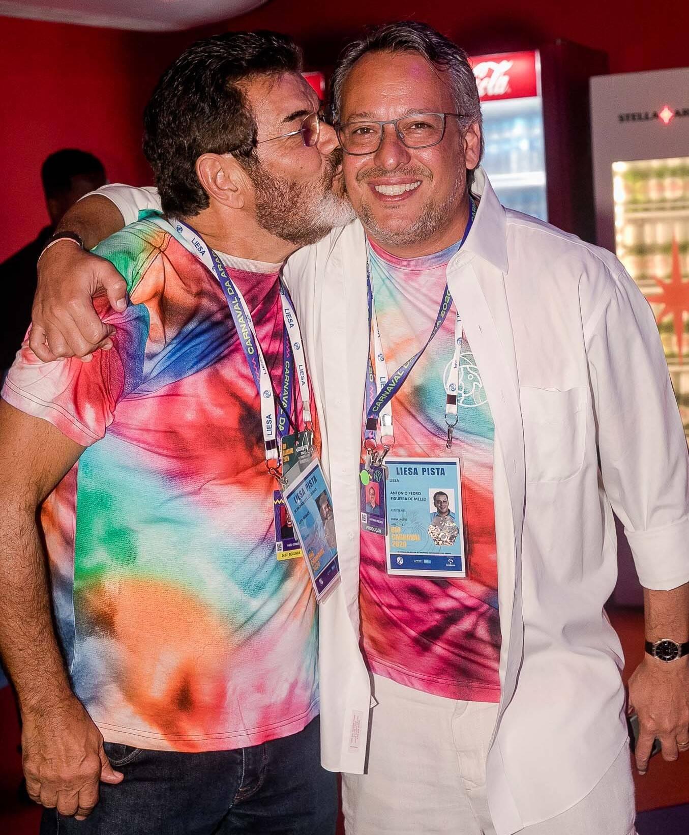 Abel Nunes e Antonio Pedro Figueira de Mello /Foto: Bruno Ryfer