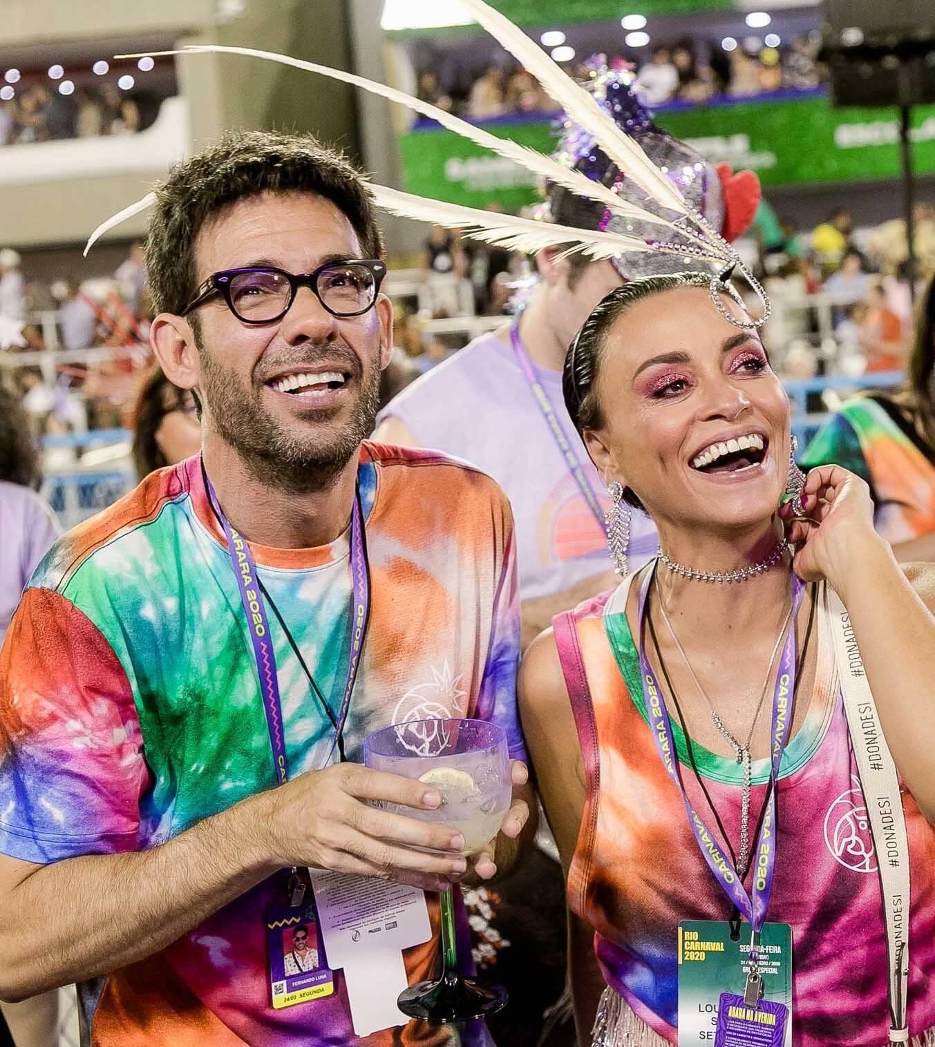 Fernando Luna e Suzana Pires /Foto: Bruno Ryfer
