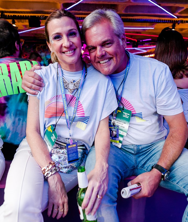 James Darcy e Claudia Darcu /Foto: Bruno Ryfer