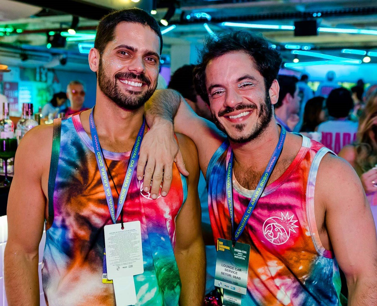 Marcelo Gomes e Roched Seba /Foto: Bruno Ryfer