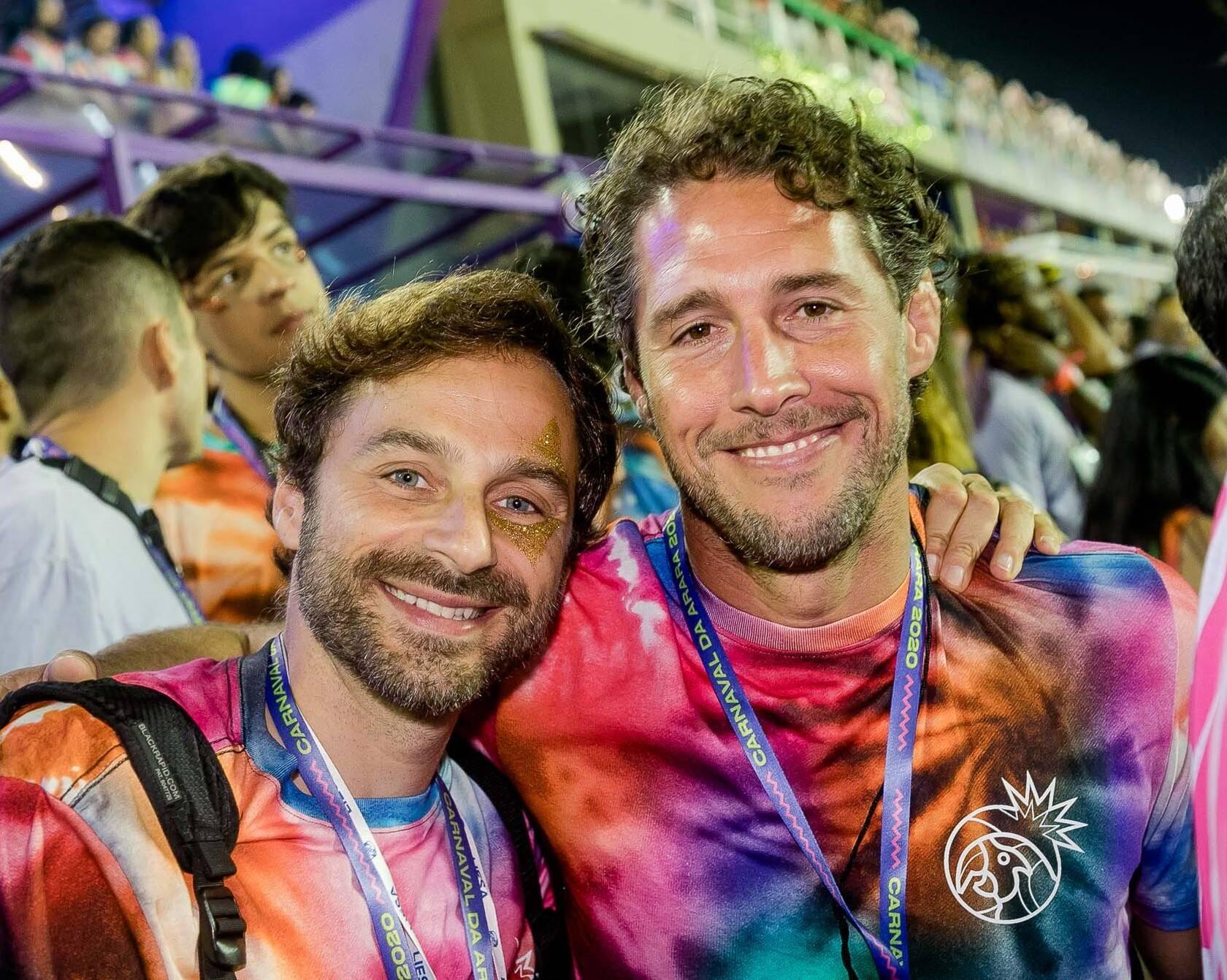 Bruno Ryfer e Flavio Canto /Foto: Reprodução