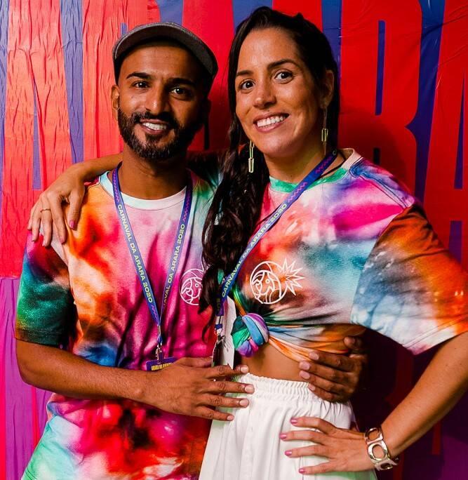 Robert Thomas e Julia Carvalho /Foto: Bruno Ryfer