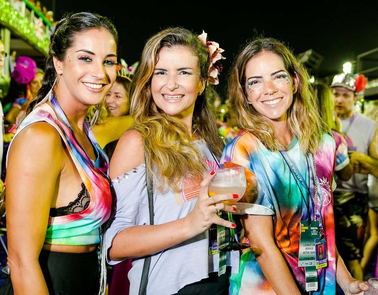 Taissa Depoli, Georgeana Godinho e Carolina Mariotto /Foto: Bruno Ryfer